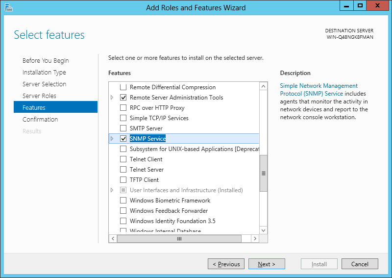 How to setup SNMP monitoring of a Windows system – On Web