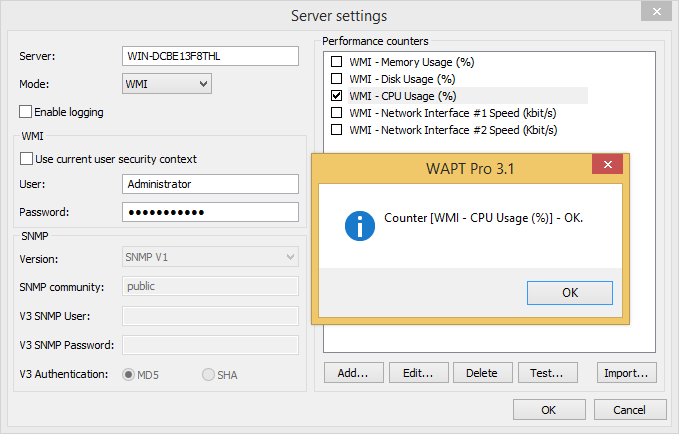 how to stop wmi performance adapter service