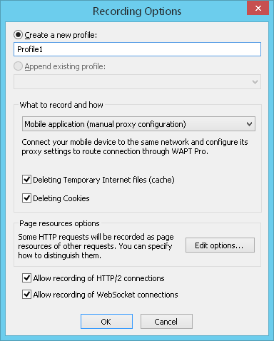 Recording Tests with Firefox, Chrome and Other Browsers