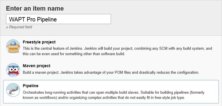 Support of Jenkins Pipeline Plugin
