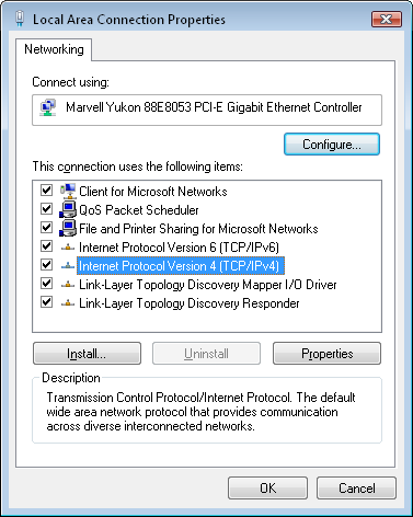 how to assign an ip address to a computer