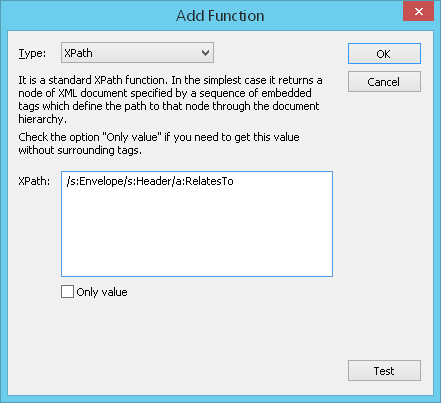 XPath function to extract values from the AMF messages