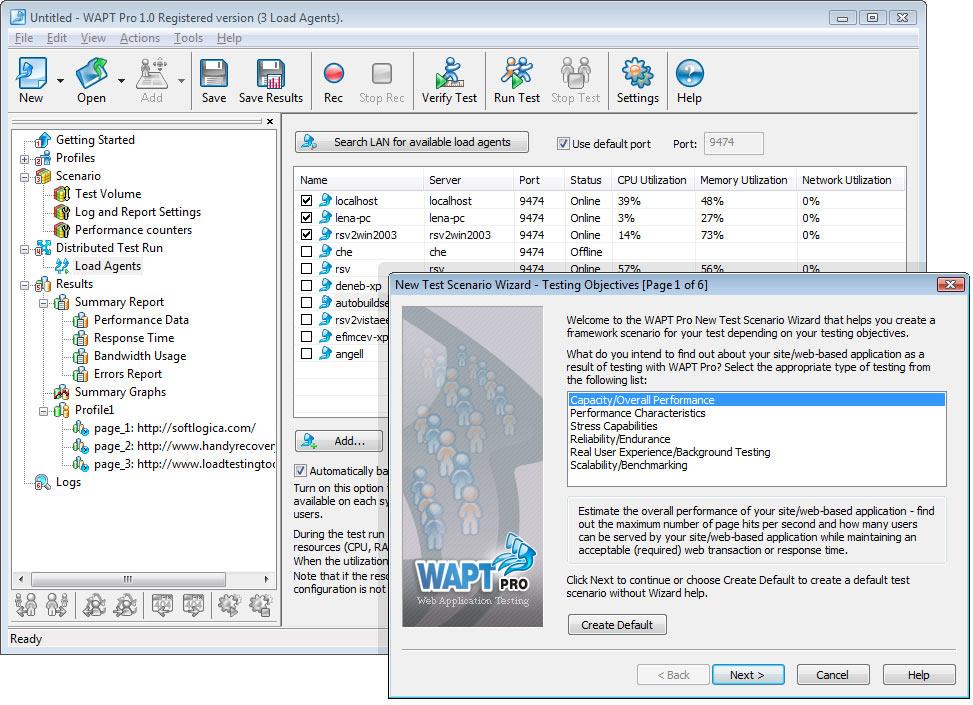 WAPT Pro screenshot